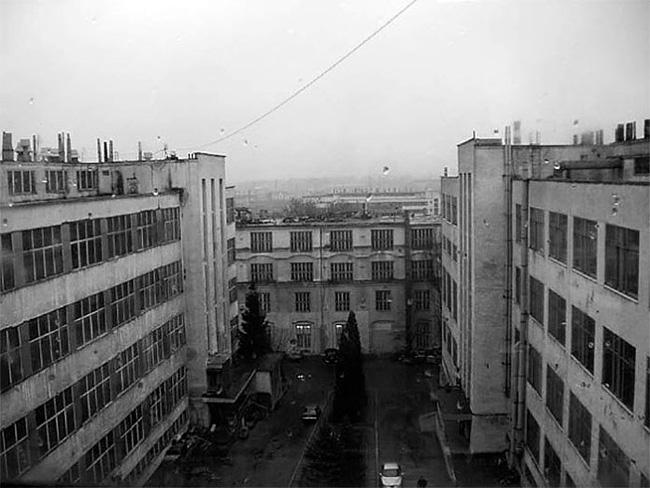 Корпуса Львовского завода телеграфной аппаратуры
