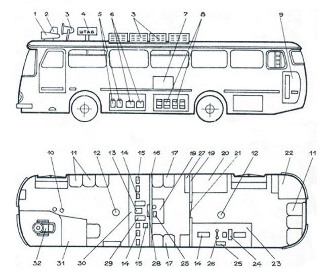 Схема компоновки АС-5